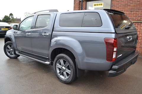D-Max Blade Double Cab 4x4 Pick Up Fitted Glazed Canopy 1.9 4dr Pickup Automatic Diesel