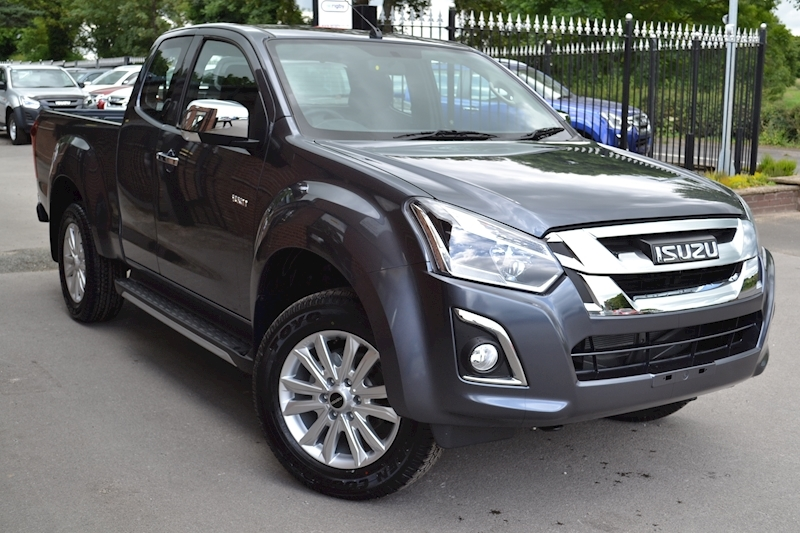 D-Max Yukon Extended Cab 4x4 Pick Up 1.9 4dr Pickup Manual Diesel