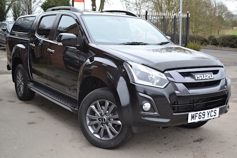 Isuzu D-Max Blade Double Cab 4x4 Pick Up fitted with Glazed Canopy