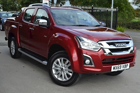 Isuzu D-Max Utah Double Cab 4x4 Pick Up
