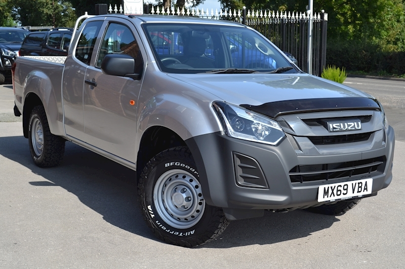 D-Max Extended Cab 4x4 Pick Up 1.9 4dr Pickup Manual Diesel