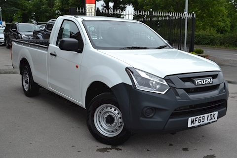 Isuzu D-Max 4x2 Single Cab 2 Wheel Drive Pick Up