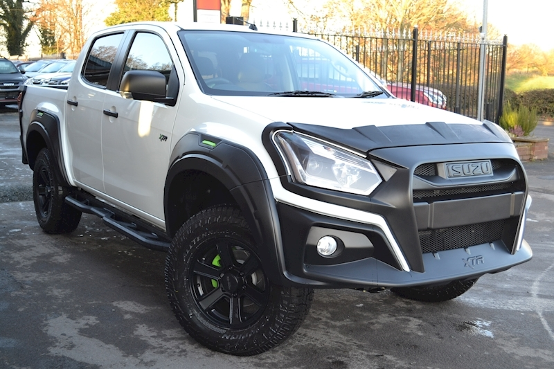 D-Max XTR Double Cab 4x4 Pick Up 1.9 4dr Pickup Manaul Diesel