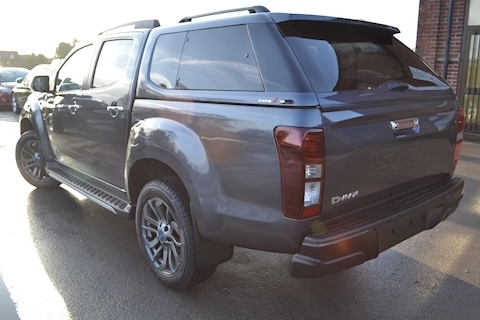 D-Max Blade Plus Double Cab 4x4 Pick Up Fitted Glazed Canopy 1.9 4dr Pickup Automatic Diesel