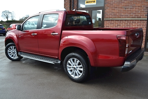 D-Max Utah Double Cab 4x4 Pick Up 1.9 4dr Pickup Manual Diesel
