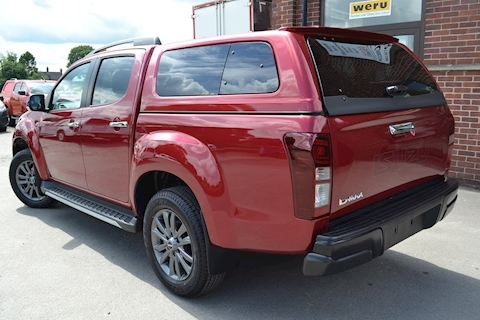 D-Max Blade Double Cab 4x4 Pick Up Fitted Glazed Canopy 1.9 Pickup Automatic Diesel