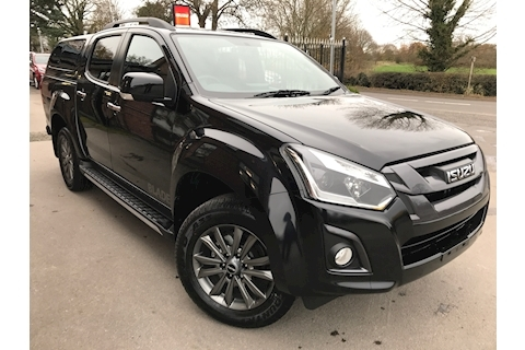 Isuzu D-Max Blade Double Cab 4x4 Pick Up Fitted Glazed Canopy