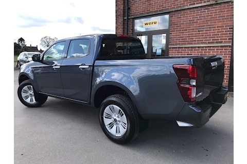 D-Max DL20 Double Cab 4x4 Pick Up 1.9 4dr Pickup Manual Diesel
