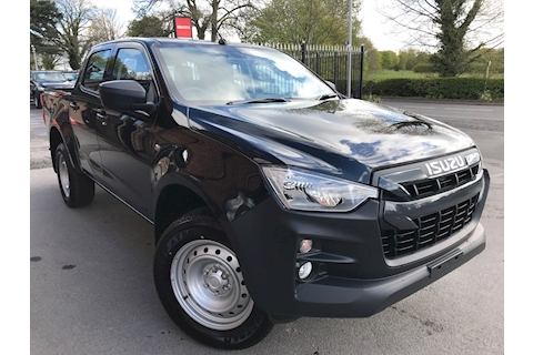 Isuzu D-Max Utility Double Cab 4x4 Pick Up