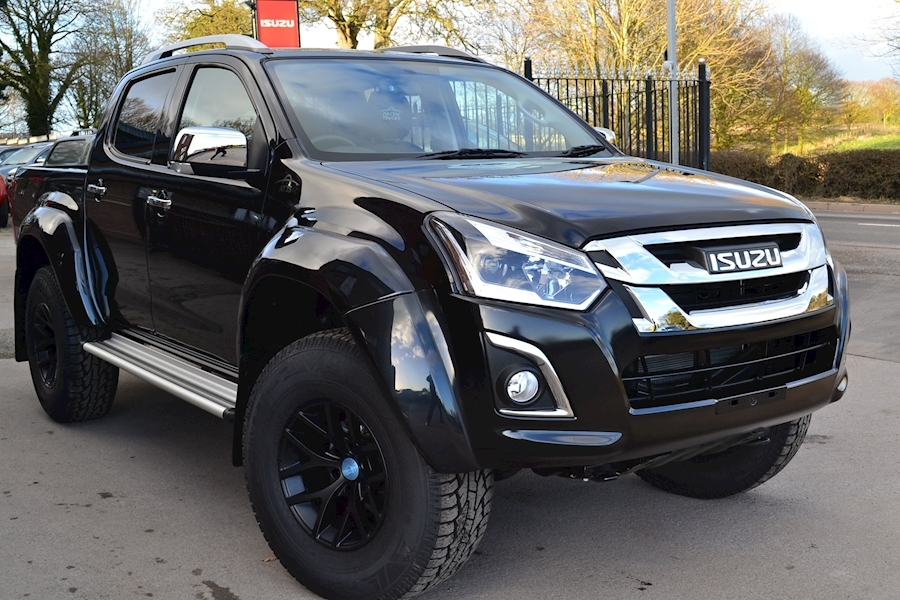 D-Max Arctic Trucks AT35 Double Cab 4x4 Pick Up 1.9 4dr Pickup Automatic Diesel