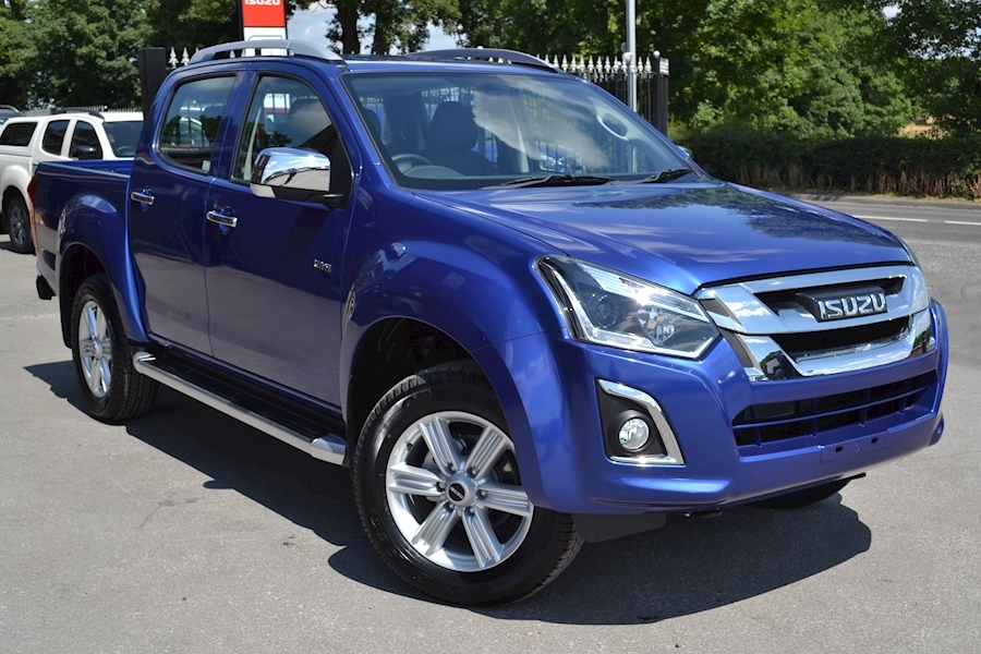 D-Max Utah Double Cab 4x4 Pick Up 1.9 Pickup Automatic Diesel