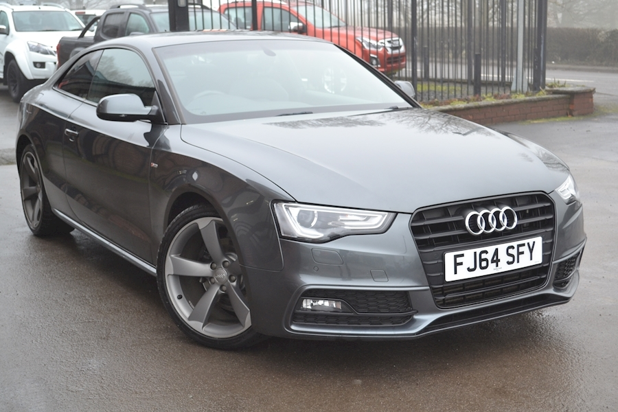 A5 2.0 Tdi 177 Black Edition S Line Coupe 2.0 Automatic