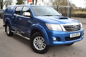 Toyota Hilux Invincible 3.0 AUTO 4x4 Double Cab Pick Up Leather Sat Nav