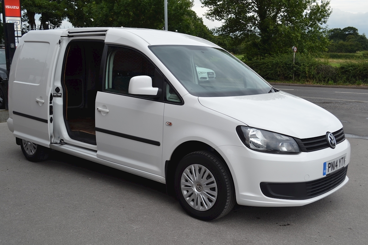 used volkswagen caddy maxi c20 tdi trendline bmt 1 6 for sale j w rigby. Black Bedroom Furniture Sets. Home Design Ideas