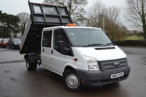 Ford Transit 350 Crew Cab Drw Tipper 125PS