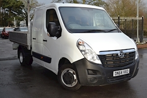 Vauxhall Movano R3500 Crew Cab 125ps Double Rear Wheel 2.3Cdti L3 H1 Alloy Dropside