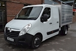 Vauxhall Movano R3500 Crew Cab 125ps Double Rear Wheel 2.3Cdti L3 H1 Alloy Arb Tipper 2.3 - Thumb 3