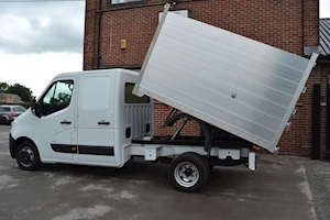 Movano R3500 Crew Cab 125ps Double Rear Wheel 2.3Cdti L3 H1 Alloy Arb Tipper 2.3 Tipper Manual Diesel