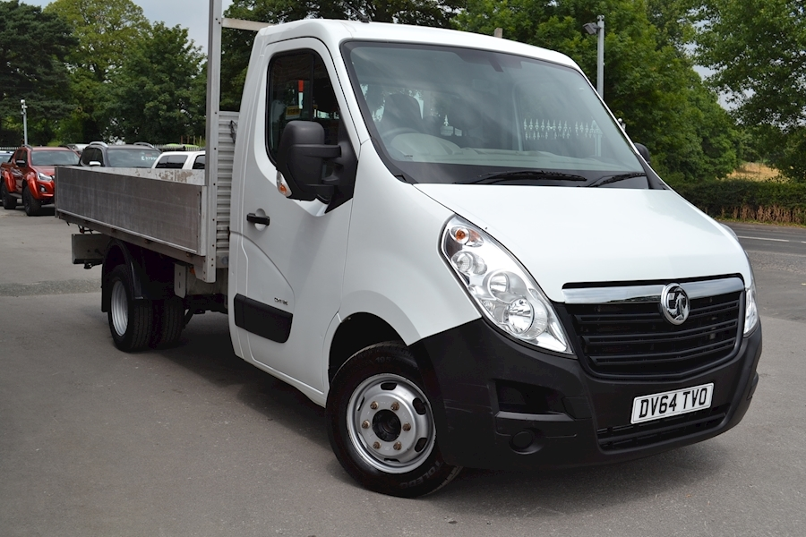 Movano R3500 125ps Double Rear Wheel 2.3Cdti L3 H1 3.5 Tonne Alloy Dropside 2.3 Dropside Manual Diesel