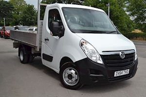 Vauxhall Movano R3500 125ps Double Rear Wheel 2.3Cdti L3 H1 3.5 Tonne Alloy Dropside
