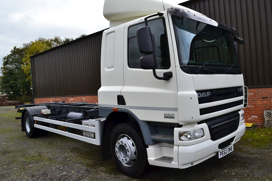 Cf FA 65.250 Demount Chassis Cab 6.7 Chassis Cab Manual Diesel