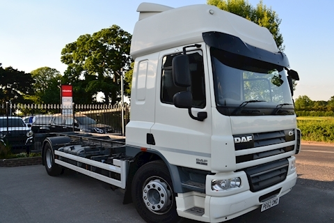 DAF Cf FA 75.360 Full Air Suspension Front + Rear Manual Chassis Cab High Roof Sleeper