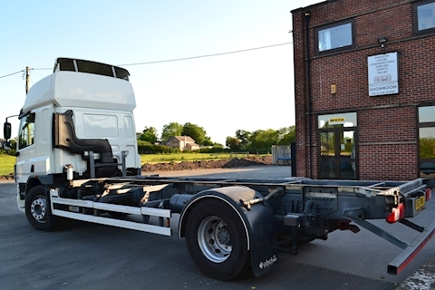 Cf FA 75.360 Full Air Suspension Front + Rear Manual Chassis Cab High Roof Sleeper 9.2 Chassis Cab Manual Diesel