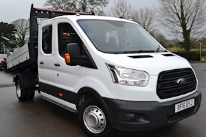 Ford Transit 350 L3 H1 Double Cab 125PS DRW RWD Crew Cab Tipper