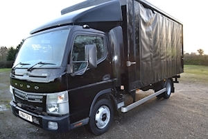 Canter Fuso 7C15 38 Euro 6 7.5 Tonne 16 Foot Curtainsider 3850wb ULEZ Compliant 3.0 Curtain Side Manual Diesel