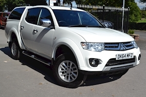 Mitsubishi L200 Di-D 4X4 Trojan 175 Bhp Double Cab 4x4 Pick up with Glazed Canopy