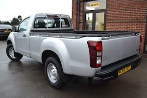D-Max Single Cab 4x4 Pick Up 6 speed Twin Turbo 2.5 2dr Pickup Manual Diesel