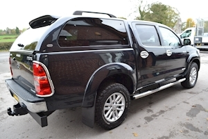 Toyota Hilux Invincible 4x4 D-4d Double Cab 4x4 Pick Up Glazed Truckman Canopy Pickup 3.0 Manual Diesel