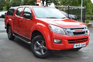 Isuzu D-Max Fury Double Cab 4x4 Pick Up fitted Glazed Truckman Canopy