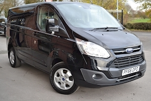 Ford Transit Custom 270 Limited L1 H1 170ps Euro 6 SWB Low Roof Van