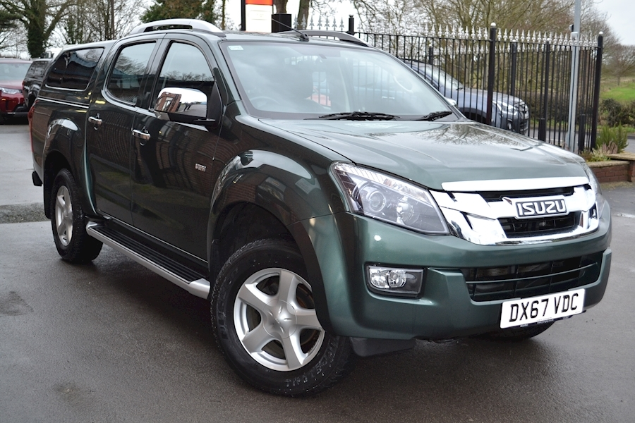 D-Max Utah Vision Double Cab 4x4 Pick Up Fitted Glazed Canopy 2.5 Pick-Up Manual Diesel
