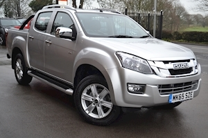 Isuzu D-Max Utah Vision Double Cab 4x4 Pick Up Fitted Roller Shutter Lid with Style Bar