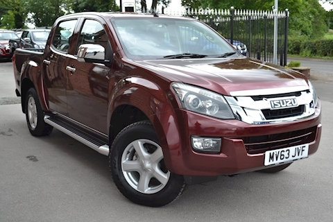 Isuzu D-Max Yukon Vision Double Cab 4x4 Pick Up