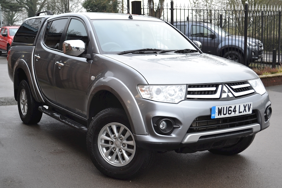 L200 Di-D 4X4 Trojan 175 Bhp Double Cab 4x4 Pick Up Fitted Glazed Canopy 2.5 Pickup Manual Diesel
