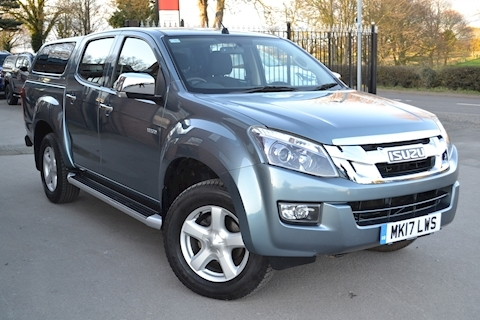 Isuzu D-Max Yukon Double Cab 4x4 Pick Up fitted Glazed Canopy