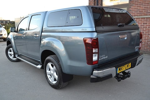 D-Max Yukon Double Cab 4x4 Pick Up fitted Glazed Canopy 2.5 4dr Pickup Manual Diesel