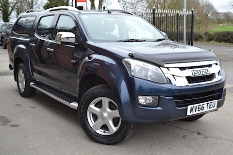 Isuzu D-Max Utah Vision Double Cab 4x4 Pick Up Fitted Glazed Canopy