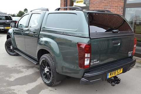 D-Max Utah Huntsman Double Cab 4x4 Pick Up 2.5 4dr Pickup Automatic Diesel