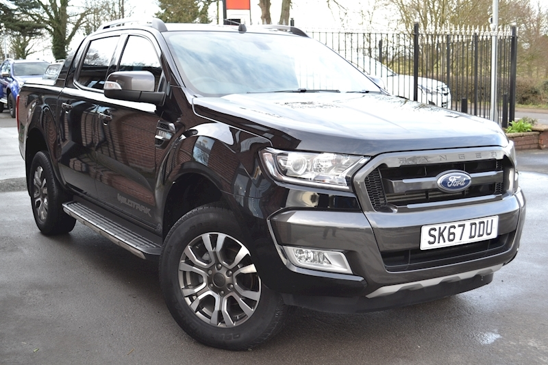 Ranger Wildtrak 200ps Double Cab 4x4 Pick Up Euro 6 fitted Roller Shutter Lid 3.2 Pickup Automatic Diesel