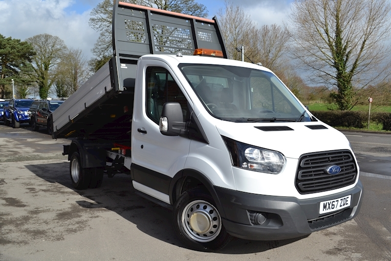 Transit 350 L2 130ps Euro 6 Tipper with Air Con 2.0 Tipper Manual Diesel