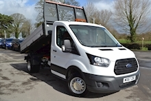 Ford Transit 350 L2 130ps Euro 6 Tipper with Air Con 2.0 - Thumb 0