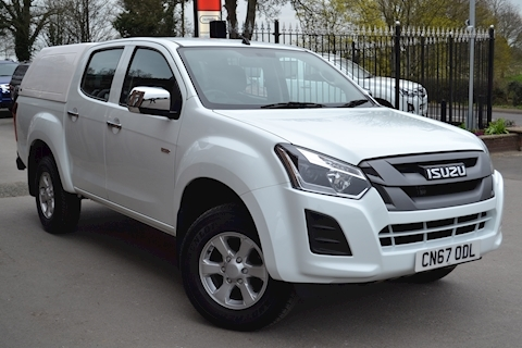Isuzu D-Max Eiger Euro 6 Double Cab 4x4 Pick Up with Truckman RS Canopy