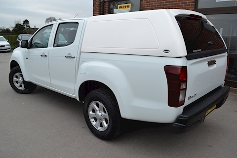 D-Max Eiger Euro 6 Double Cab 4x4 Pick Up with Truckman RS Canopy 1.9 4dr Pickup Automatic Diesel