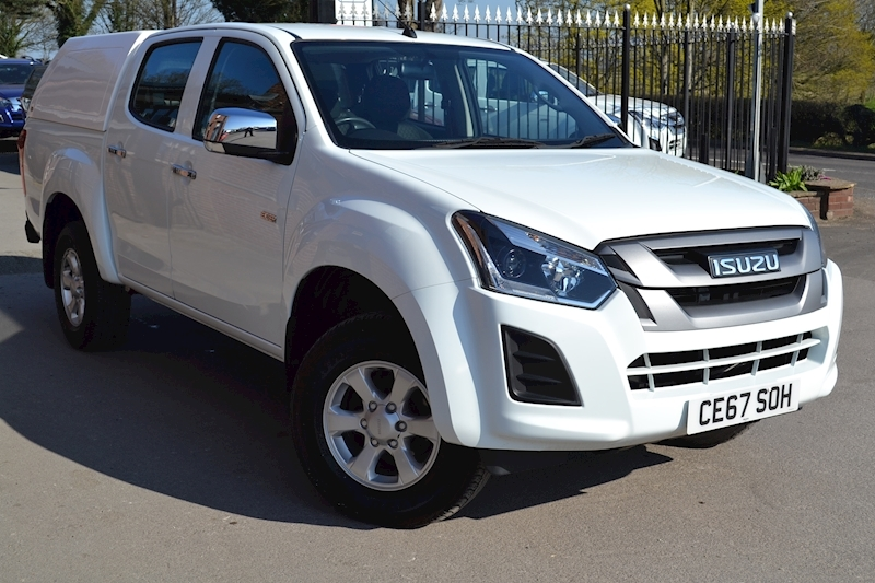D-Max Eiger Euro 6 Double Cab 4x4 Pick Up with Truckman RS Canopy 1.9 Pickup Manual Diesel
