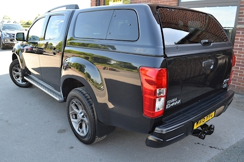 D-Max Blade Double Cab 4x4 Pick Up Fitted Glazed Canopy 2.5 4dr Pickup Manual Diesel