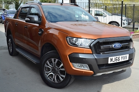 Ford Ranger Wildtrak 200ps Double Cab 4x4 Pick Up Euro 6 fitted Roller Shutter Lid